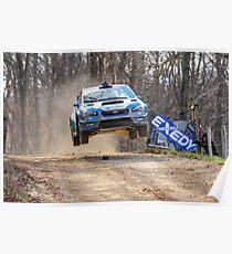 Fliegender Subaru Poster