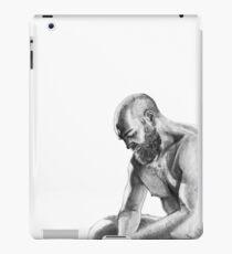 Overthinking man iPad Case/Skin