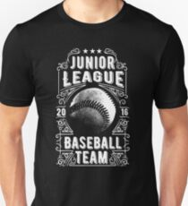 Junior League Baseball Team Retro Vintage Unisex T-Shirt