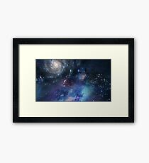 Stars in the Universe  Framed Print