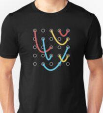 Analoger modularer Synthesizer Slim Fit T-Shirt