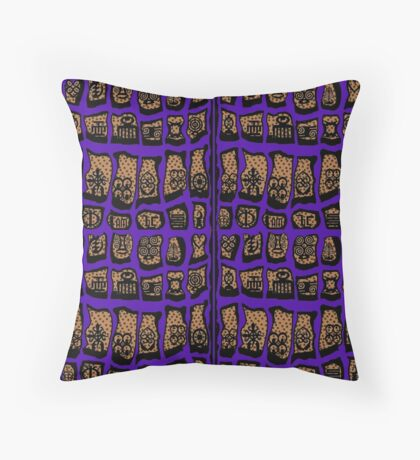 Ultra Violet COTY 2018 Throw Pillow