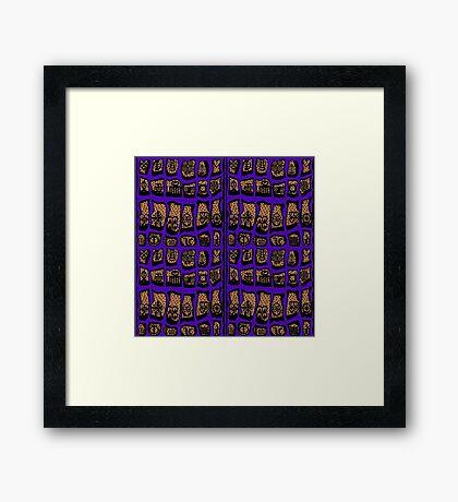Ultra Violet COTY 2018 Framed Print