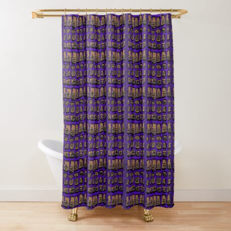 Ultra Violet COTY  Shower Curtain