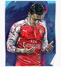 Mesut Ozil - the Ozil touch Poster