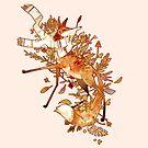 Autumn fox by hittouch