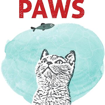 Cat Paws Poster by nobredesign