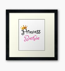 Princess Barbie #1 Framed Print
