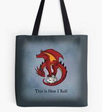 Dice Dragon Tote Bag