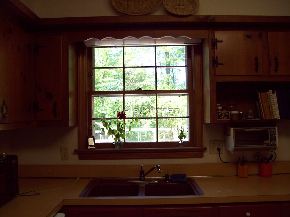 Old window view by MA's Kitchen