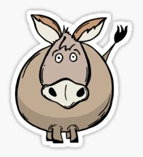 Fat Donkey Sticker