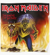 IRON MAIDEN-NUMBER OF THE BEAST Poster