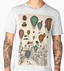 Vintage Old City Men's Premium T-Shirt