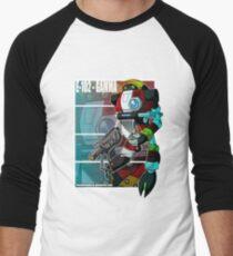 E-102-Gamma Men's Baseball ¾ T-Shirt