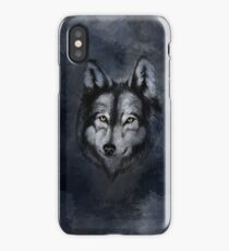 Wolf In The Night iPhone Case/Skin