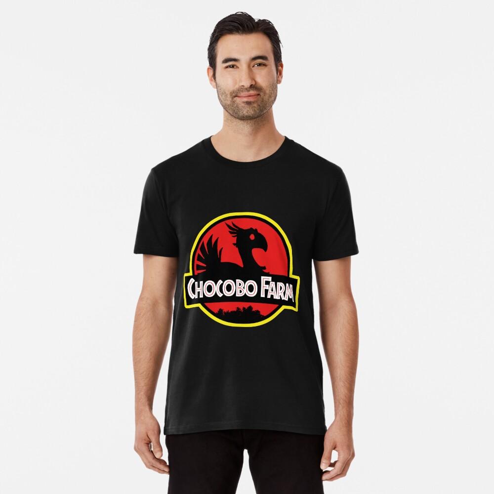 Chocobo Bauernhof Premium T-Shirt