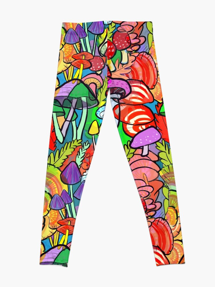 Alternate view of Overnight a Forest Appeared Leggings