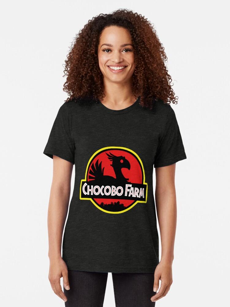 Alternative Ansicht von Chocobo Bauernhof Vintage T-Shirt
