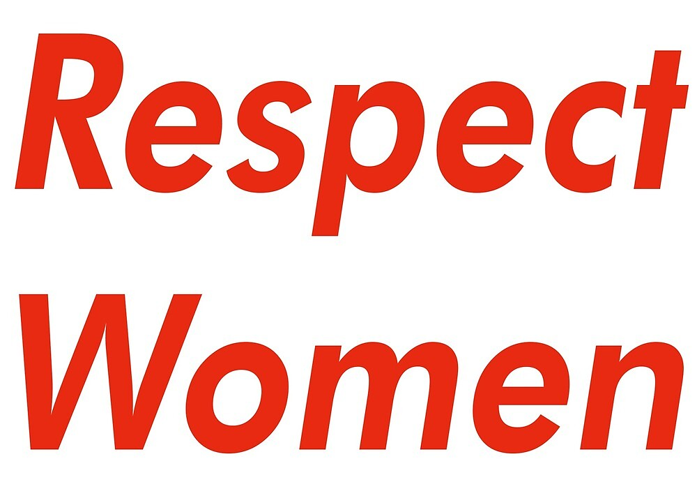 respect women merch by coolcontent redbubble