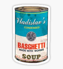 Vladislav's Basghetti, What We Do in the Shadows Sticker