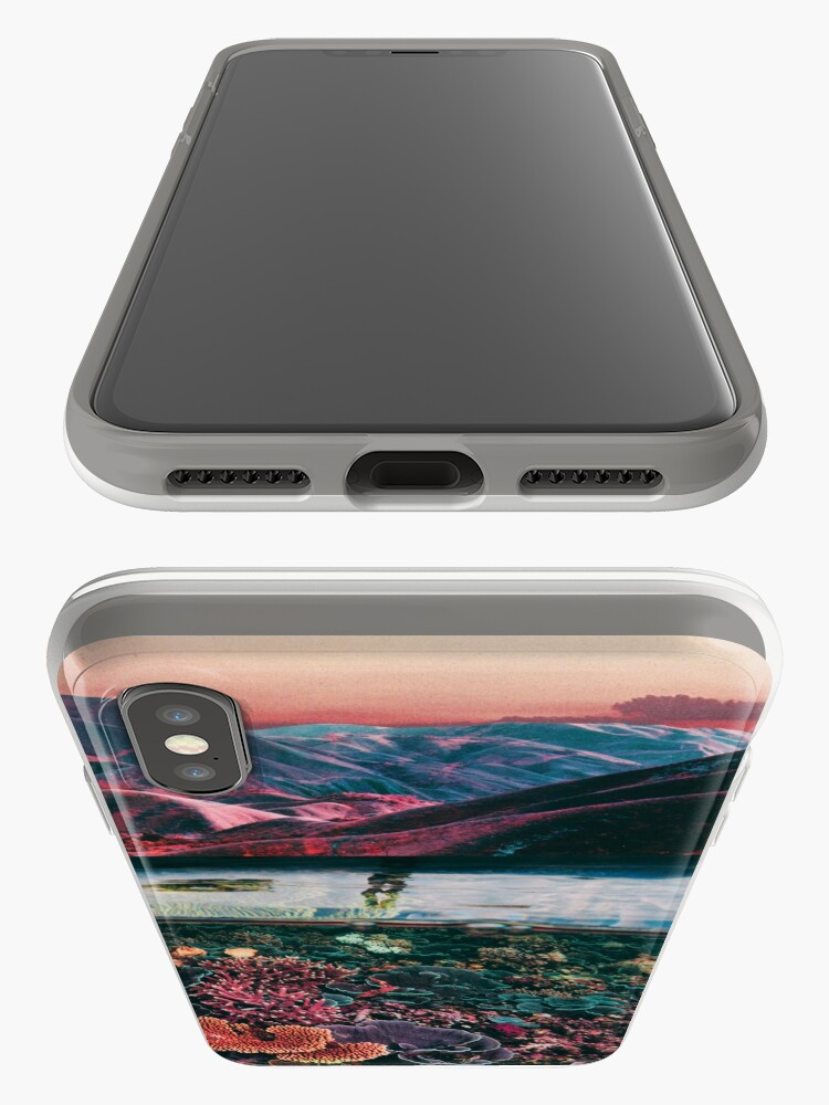 Alternate view of Space coral iPhone Case & Cover