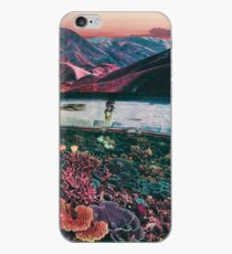 Space coral iPhone Case