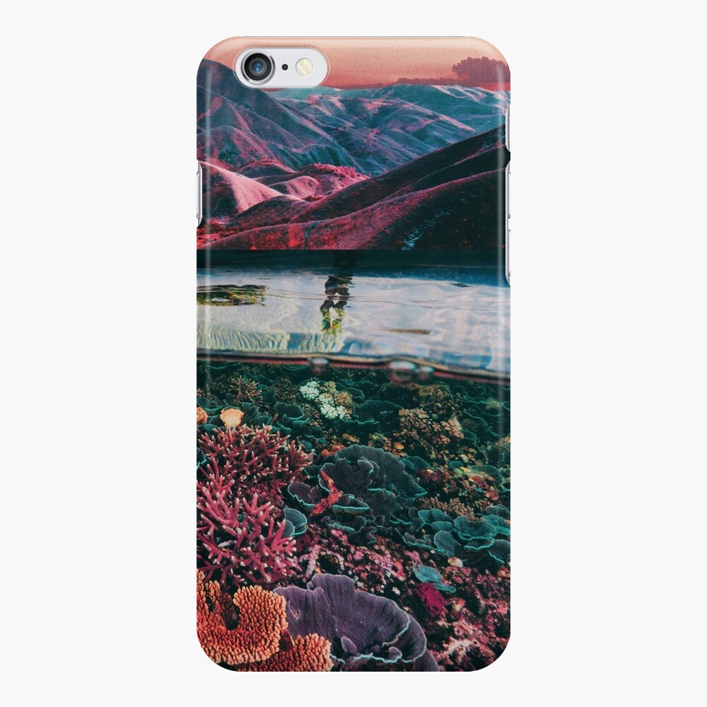 Space coral iPhone Cases & Covers