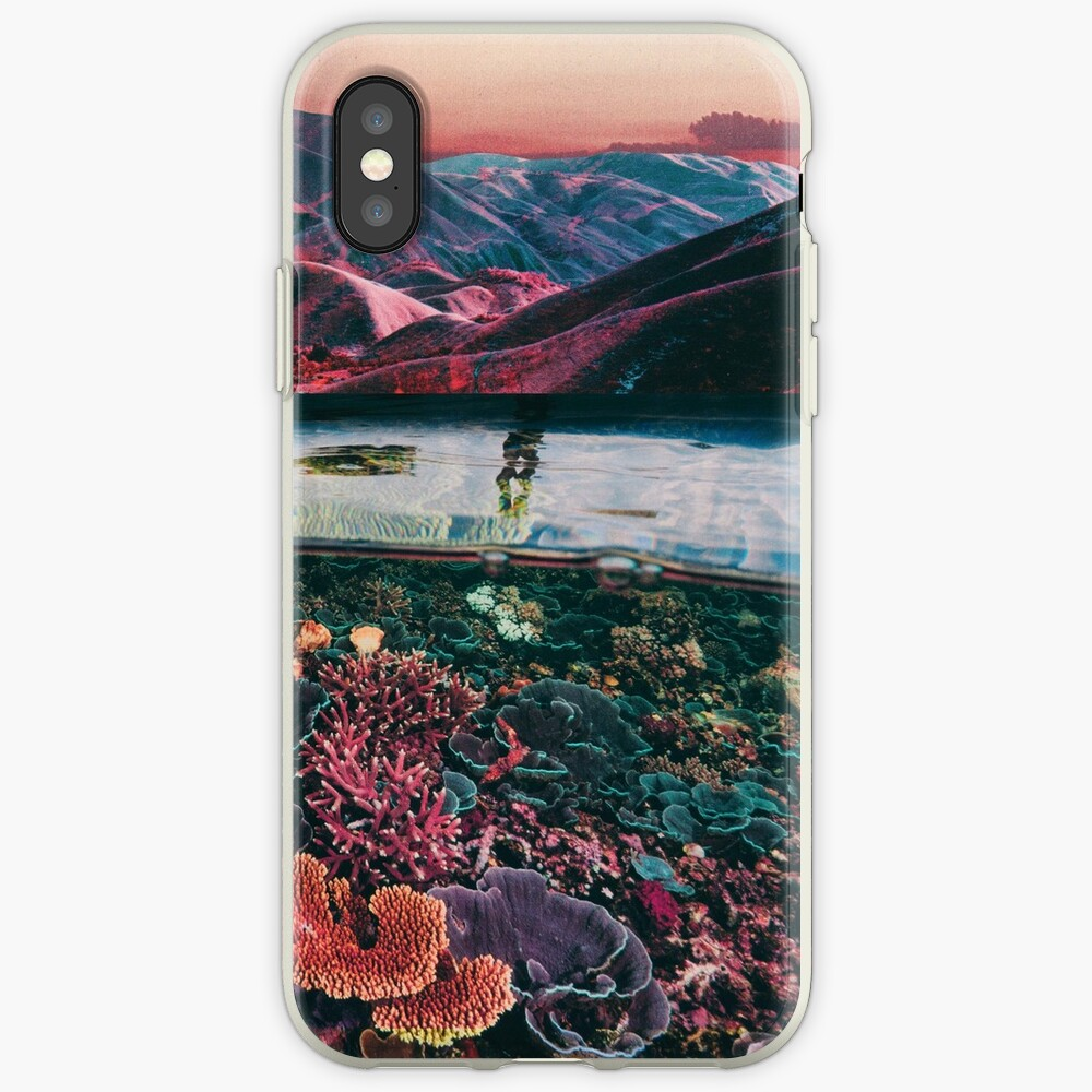 Space coral iPhone Case & Cover