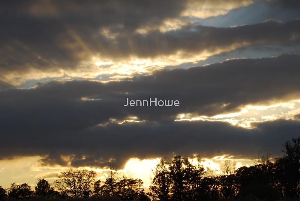Sunset Nov. 20th - Williamsburg, VA by JennHowe