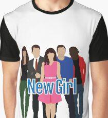 Neue Mädchenbesetzung Grafik T-Shirt
