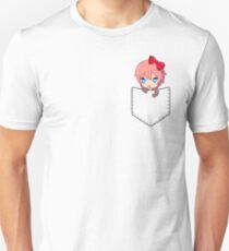 Sayori (pocket) - Doki Doki Literature Club Unisex T-Shirt