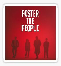 people the foster tour 2018 soang Sticker