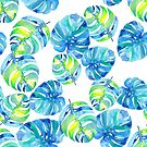 Bright Monstera by Kalaiicreations