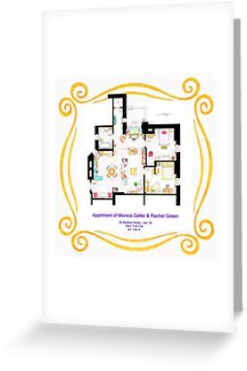 "Apartment of Monica and Rachel from ""FRIENDS"" by Iñaki Aliste Lizarralde"