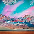 Pastel Mountains by Rosie Sayers