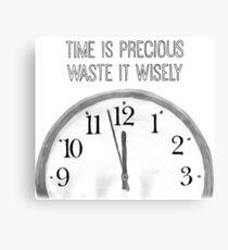 Precious Time Canvas Print