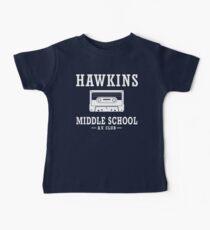 Stranger Things Hawkins Middle School A.V. Club Baby Tee