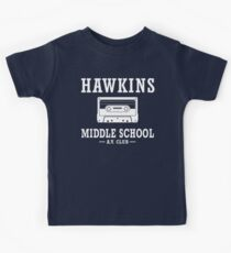 Stranger Things Hawkins Middle School A.V. Club Kids Tee