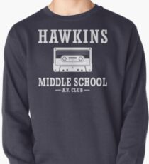 Sudadera cerrada Stranger Things Hawkins Middle School AV Club