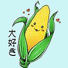 i love corn by kuraikyo