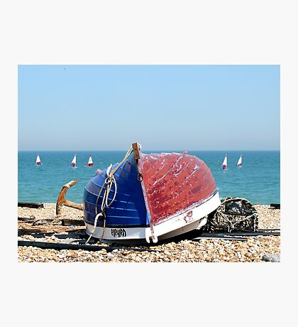 Deal Fishing Boat Photographic Print