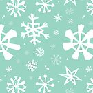 Snowflake pattern by Elizabeth Levesque