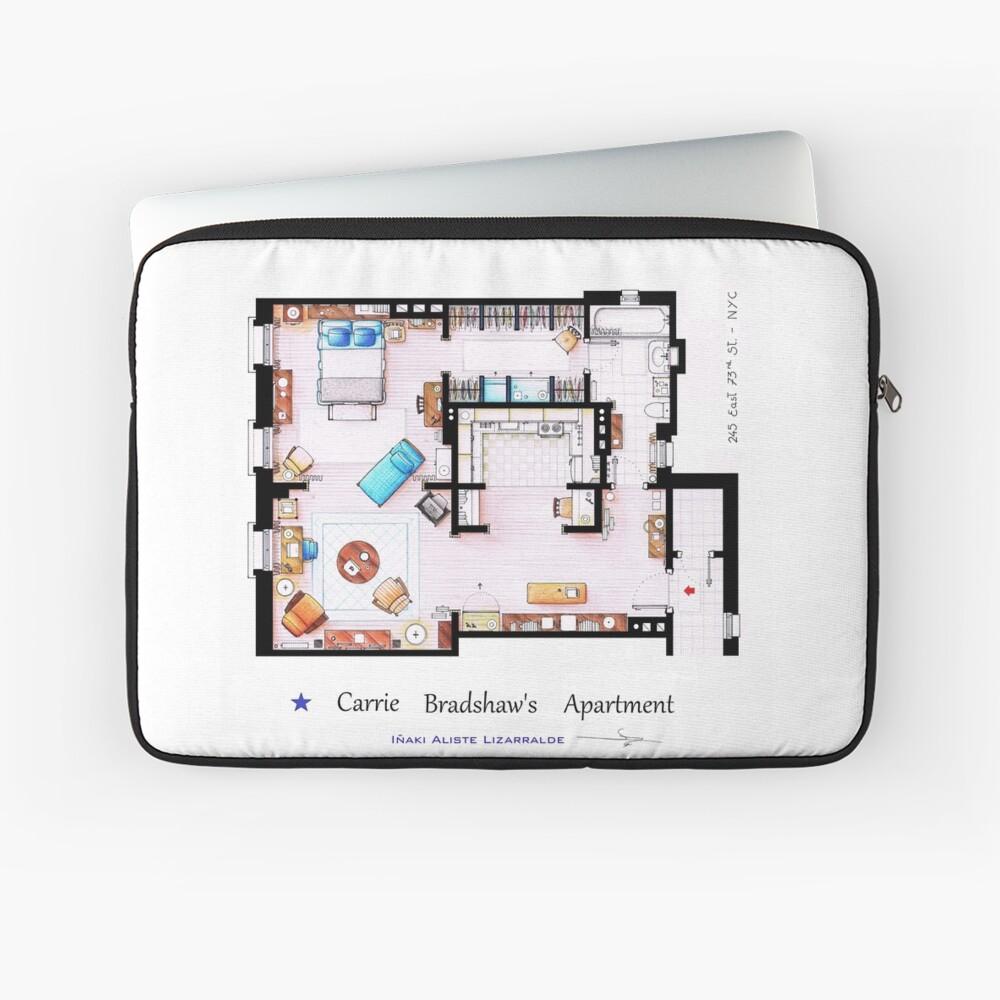 Sex & The City Apartment Laptoptasche