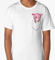 Natsuki (pocket) - Doki Doki Literature Club Long T-Shirt