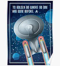 Star Trek - To Boldly Go Poster