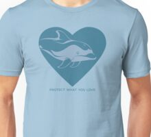 Love Pacific White-Sided Dolphin Unisex T-Shirt
