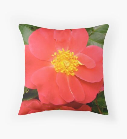 Governor General's rose 7 Throw Pillow