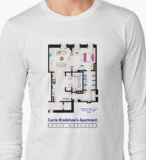 Carrie Bradshaw apt. (Sex and the City movies) Long Sleeve T-Shirt