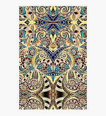 Drawing Floral Zentangle G240 Photographic Print