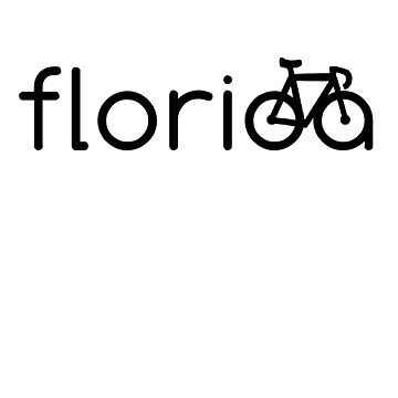 Biking Florida, Florida Bike, Florida Bicycle by tshirtbrewery